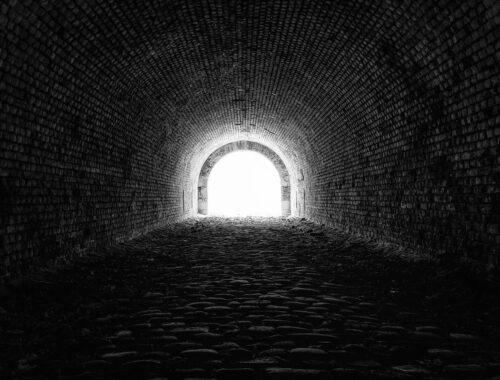 Tunneling Toward the Light by Corina Rosca